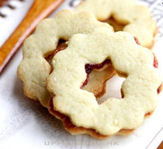 【樓上甜品店】雙重味道花形夾心餅Linzer Cookie