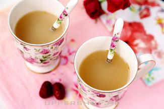 「冬日養生佳飲」生薑紅棗奶茶