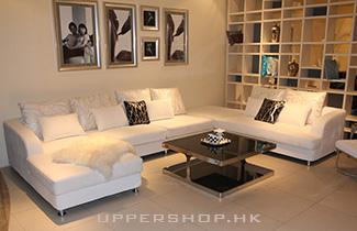 棕色系客廳傢俬  打造高貴家居風格