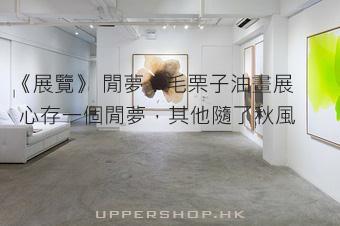 《展覽》 閒夢:毛栗子油畫展   心存一個閒夢,其他隨了秋風