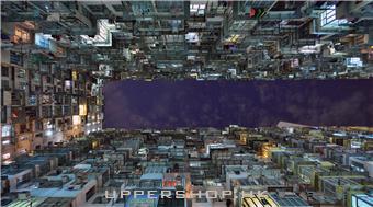 Shadows in the Windows 創作靈感來自香港密集的網格窗戶