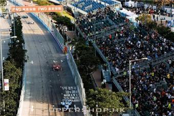 大型遊樂場 Hong Kong Formula E 2018