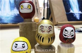 葵興一次過玩木工-繪畫班-親手整日本祈願達摩送祝福
