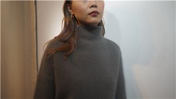 Made in Korea Wool Sweater in Grey
