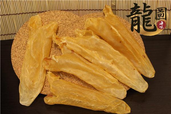 龍圖行-正宗巴西黃花魚肚25頭花膠