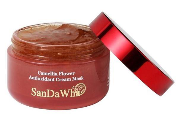 SanDaWha Camellia Cream Mask 120g