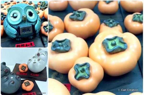 台灣手造新年陶瓷擺飾