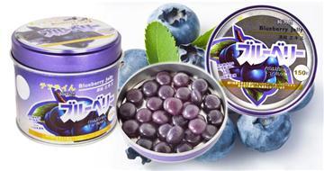 純天然野生藍莓糖150粒裝(包郵).100倍高濃縮