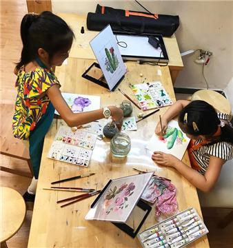 兒童綜合繪畫班 / Kids Drawing   6 -10歲yr