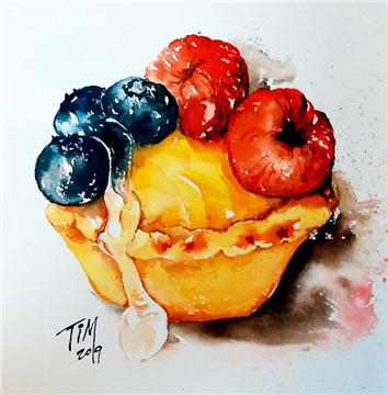 水彩甜品工作坊 Drawing dessert Workshop