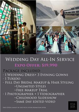 Wedding Day All-in Service