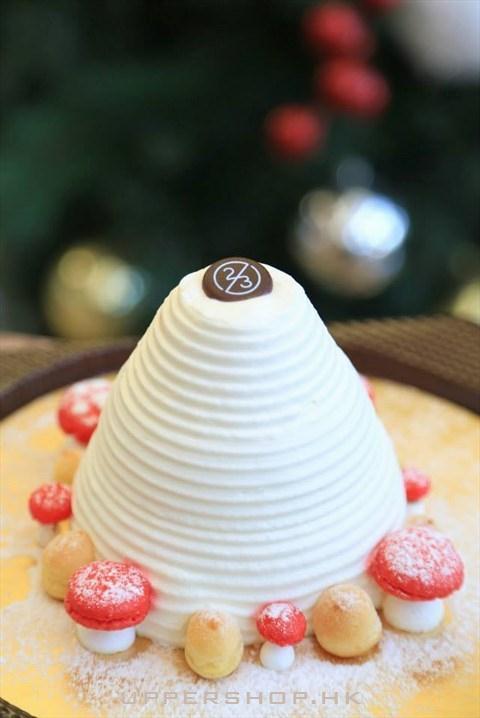 好有创意的圣诞蛋糕,都舍不的吃.