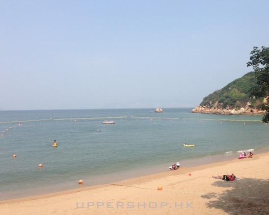 风和日丽长洲岛沙滩