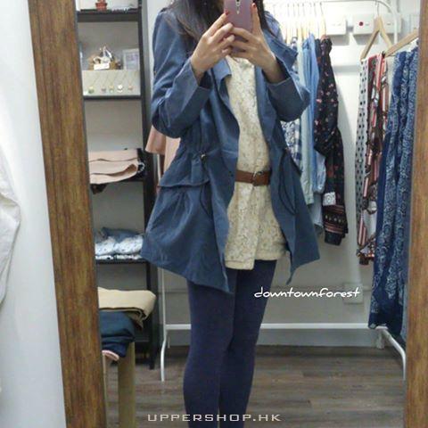 藍色修身型小外套