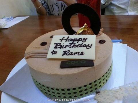 粟子白蘭地蛋糕