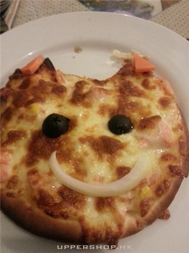 三文魚pizza