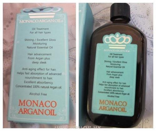 Monaco Argan Oil Monaco Argan Oil 极致顺发精华