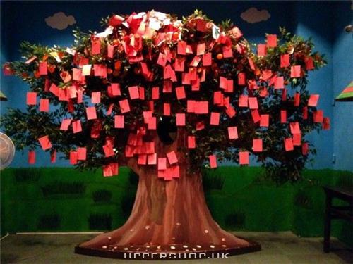 新春祝福樹