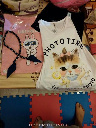 LINE索袋與韓國貓tee