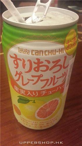 西柚味酒精果汁