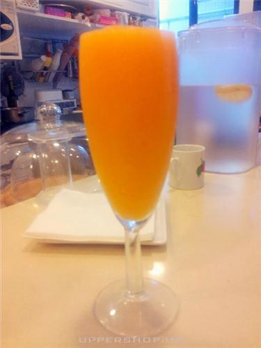 優閑甜品班戟店的橙黃之戀Yellow Smoothie