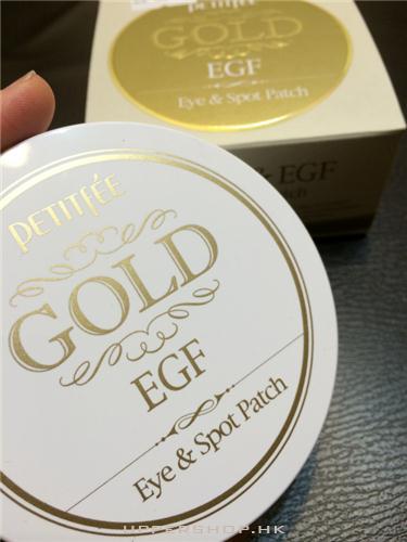 璞帝妃 PETITFEE GOLD & EGF 黃金凝膠眼貼膜