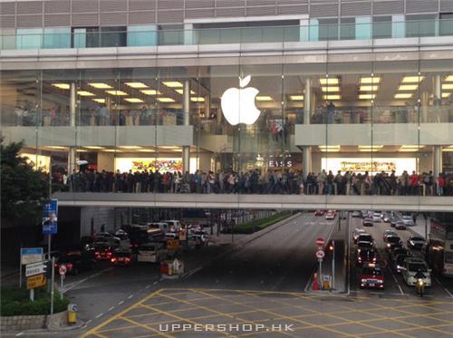 香港最大的蘋果手機店