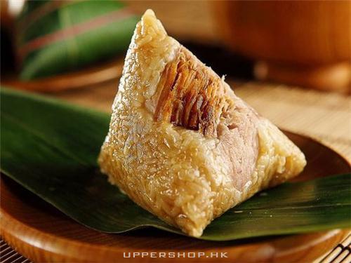 食咗一隻好好味嘅肉粽