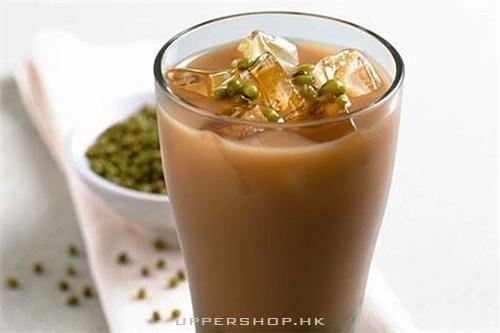 超正冰鎮綠豆奶茶,清爽降暑!