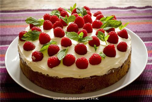 一款超正嘅草莓蛋糕,味道好好啦!