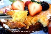法式牛油吐司配雜莓和馬斯卡布尼芝士