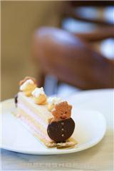 雪人曲奇蛋糕