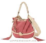 時尚粉色手袋