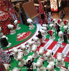 2014APM 廣場聖誕節史努比裝飾
