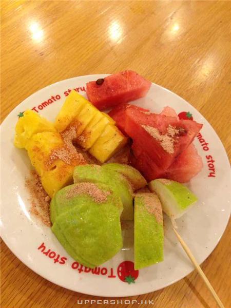 西瓜, 菠蘿