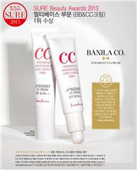banila co. it Radiant CC Cream得到三冠王美譽