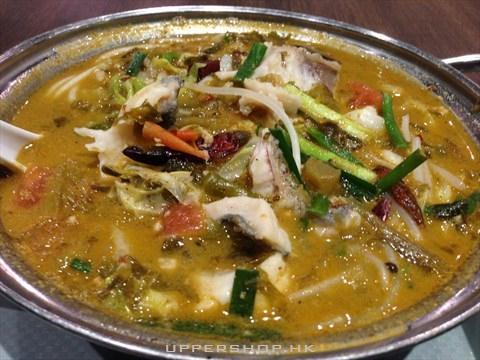 酸菜魚片麻辣米線