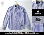 日本品牌淡藍色襯衫