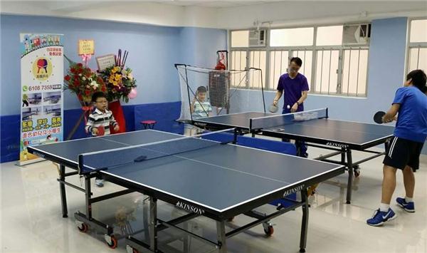 英傑乒乓 (自設訓練埸)