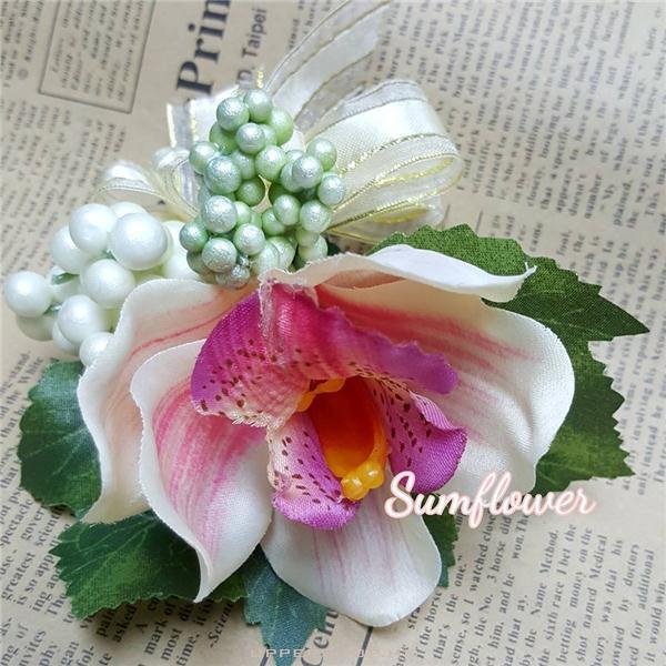 淺香繽豆豆絲花襟花