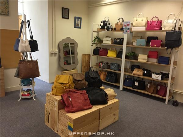真皮手袋零售 及 皮革DIY工作坊
