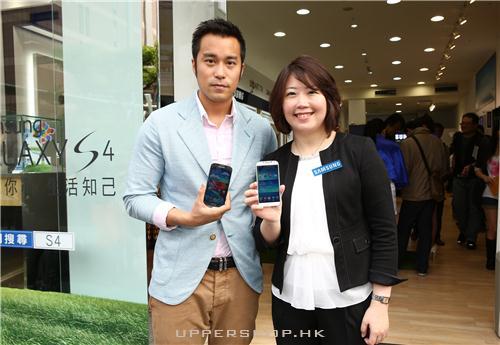 明星代言Samsung Galaxy S4
