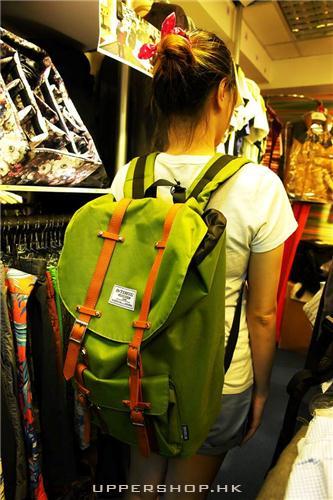 淺綠色背包3