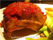 草莓醬排骨