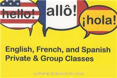 English, French &amp Spanish Classes by Chingmay Jo