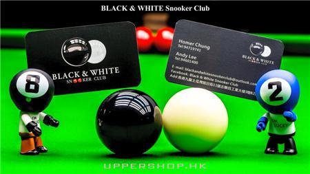 Black & White Snooker Club