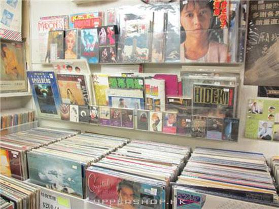 旺角二手唱片店