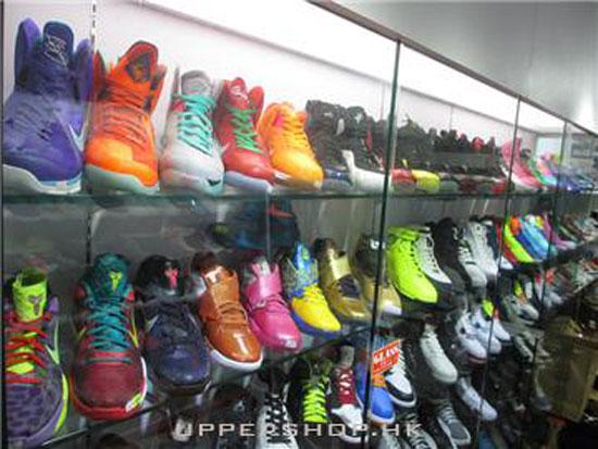 樓上波鞋店