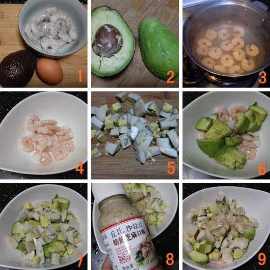 牛油果沙拉製作步驟