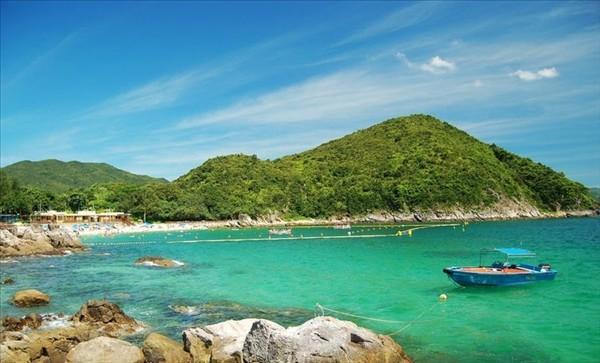 炎夏难拒清凉海滩 香港热门海边沙滩